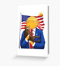 American Catastrophe II Greeting Card