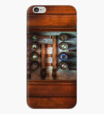 Steampunk - Electrical - The fuse panel iPhone Case
