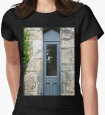 Narrow Door, Glenveagh Castle, Donegal Womens Fitted T-Shirt