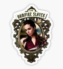 Faith the vampire slayer Sticker