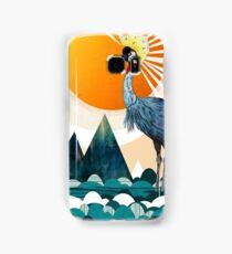 Crowned Crane Samsung Galaxy Case/Skin