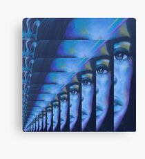 She Is Watching Canvas Print