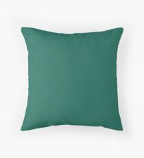 Celebration Town Green Two Tone Small Candy Cane Throw Pillow
