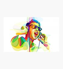 digital painting dj Photographic Print