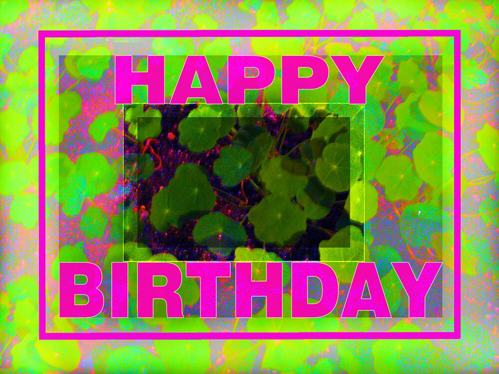Electric Pink Birthday by TLCGraphics