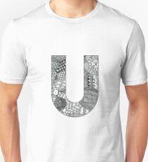 Zentangle U Unisex T-Shirt