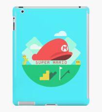 Super Mario Minimalist Graphic Design iPad Case/Skin