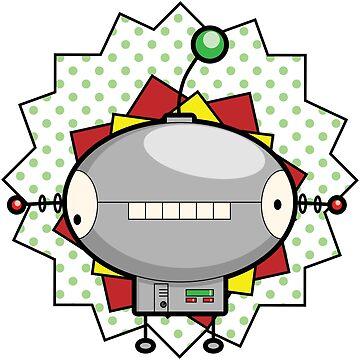 Lil Robo Dude by CerealKitten