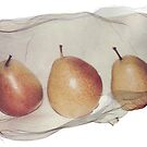 three pears by fotoaureo
