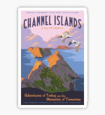 Channel Islands National Park Travel Decal 2 Sticker