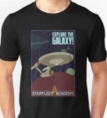 explore the galaxy Unisex T-Shirt