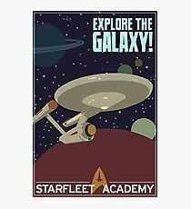 explore the galaxy Photographic Print