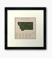 Montana Parks Framed Print