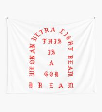 Ultralight Beam - red Wall Tapestry