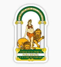 Andalucia Coat of Arms Sticker