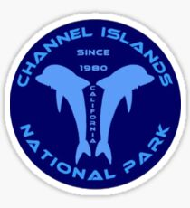 Channel Islands Dolpin Decal Sticker