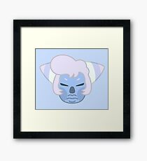 HOLLY BLUE AGATE Solo Headshot Framed Print
