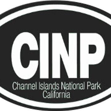 Channel Islands National Park California Travel Decal by MeLikeyTees