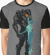 Master Chief & Cortana Graphic T-Shirt
