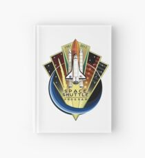 Shuttle Program Commemorative Patch Hardcover Journal