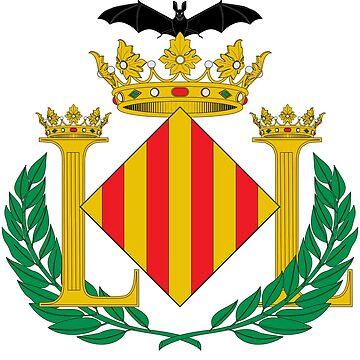 Coat of Arms of Valencia (City), Spain by Tonbbo