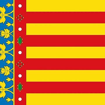Valencia flag, Spain by Tonbbo