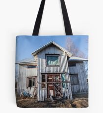 Abandoned Jehova´s Witness House in Finland Tote Bag