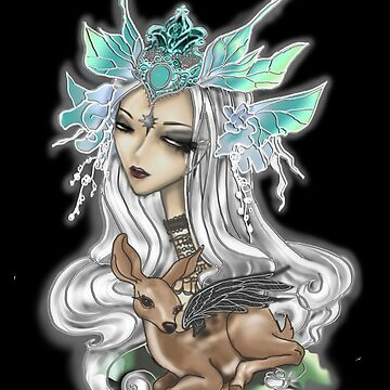 Fairy Siren with Fawn Black by rainbowise