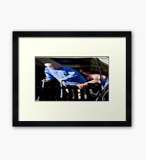 Reflections In Metal Framed Print