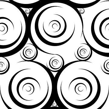 Circle Crescent Pattern by Artantat