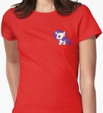 Little pony rarity Womens Fitted T-Shirt