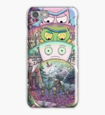 Rick and Morty Inception iPhone Case/Skin