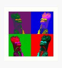 Beaker Pop Art Print