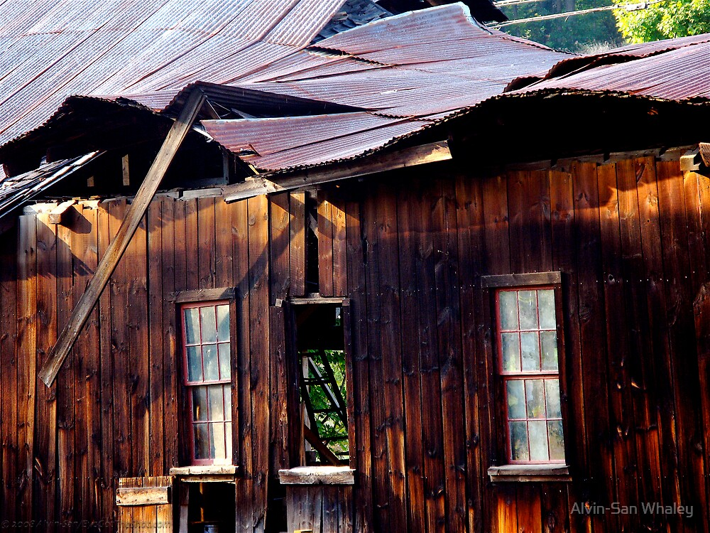 Ramshackle Rolling Roof by Alvin-San Whaley