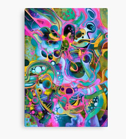 Starlight is Free (If You Live in Outer Space) - Watercolor Canvas Print