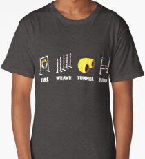 Tire Weave Tunnel Jump - Blank Long T-Shirt
