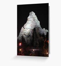 Matterhorn Mountain at Night Greeting Card