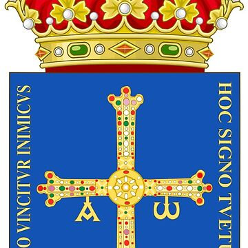 Coat of Arms of Asturias, Spain by Tonbbo