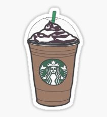 Starbucks - Frap Sticker