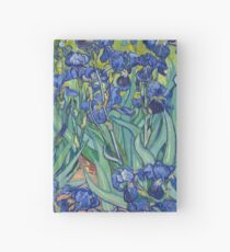 Irises by Vincent Van Gogh Hardcover Journal