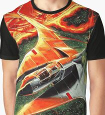 Gradius II (Cover Art) Graphic T-Shirt