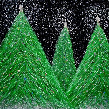 """""""Christmas Trees"""" by Dloneger"""