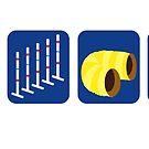 Tire Weave Tunnel Jump - Block by Lauren King