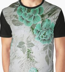 Retro Plant Graphic T-Shirt