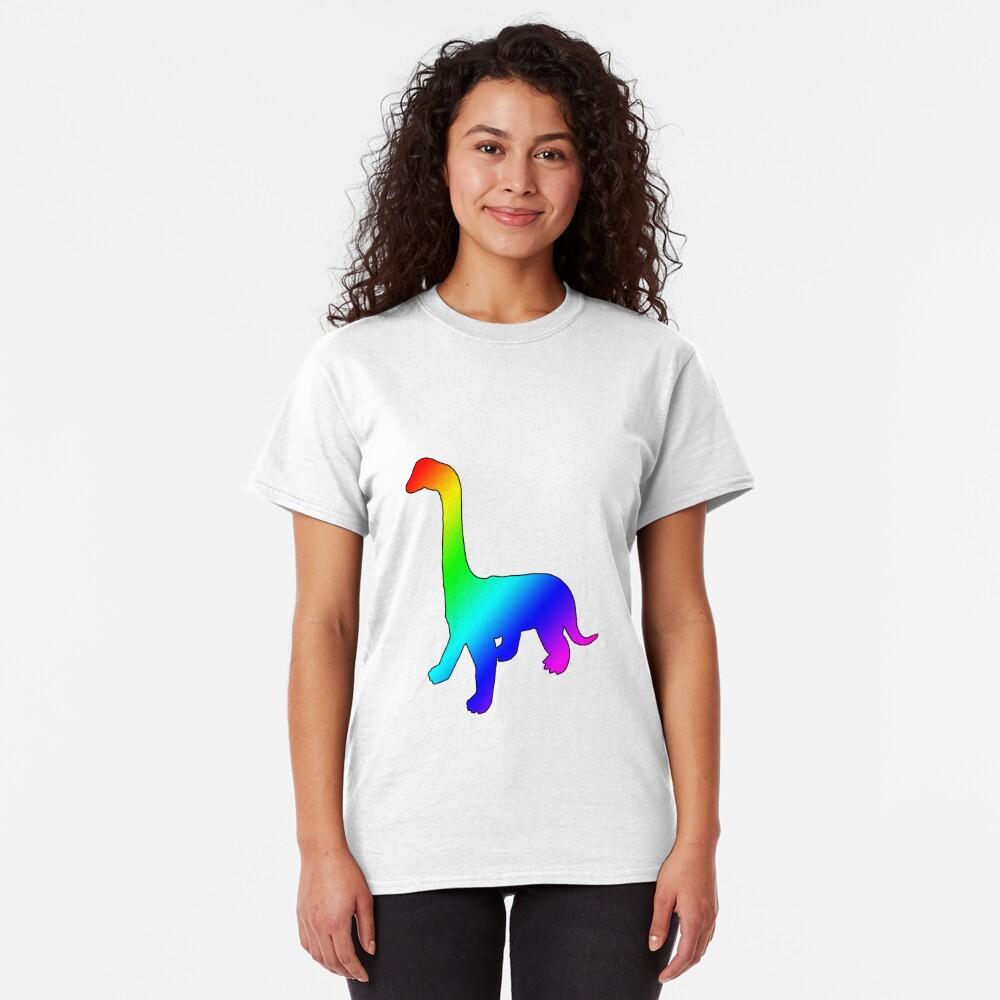 Dino Rainbow Classic T-Shirt