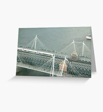 Bridgeye view Greeting Card