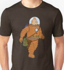tintin spaces Unisex T-Shirt