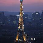 Eiffel Tower at Night by photobymdavey