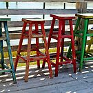 Weathered Bar Stools by Cynthia48