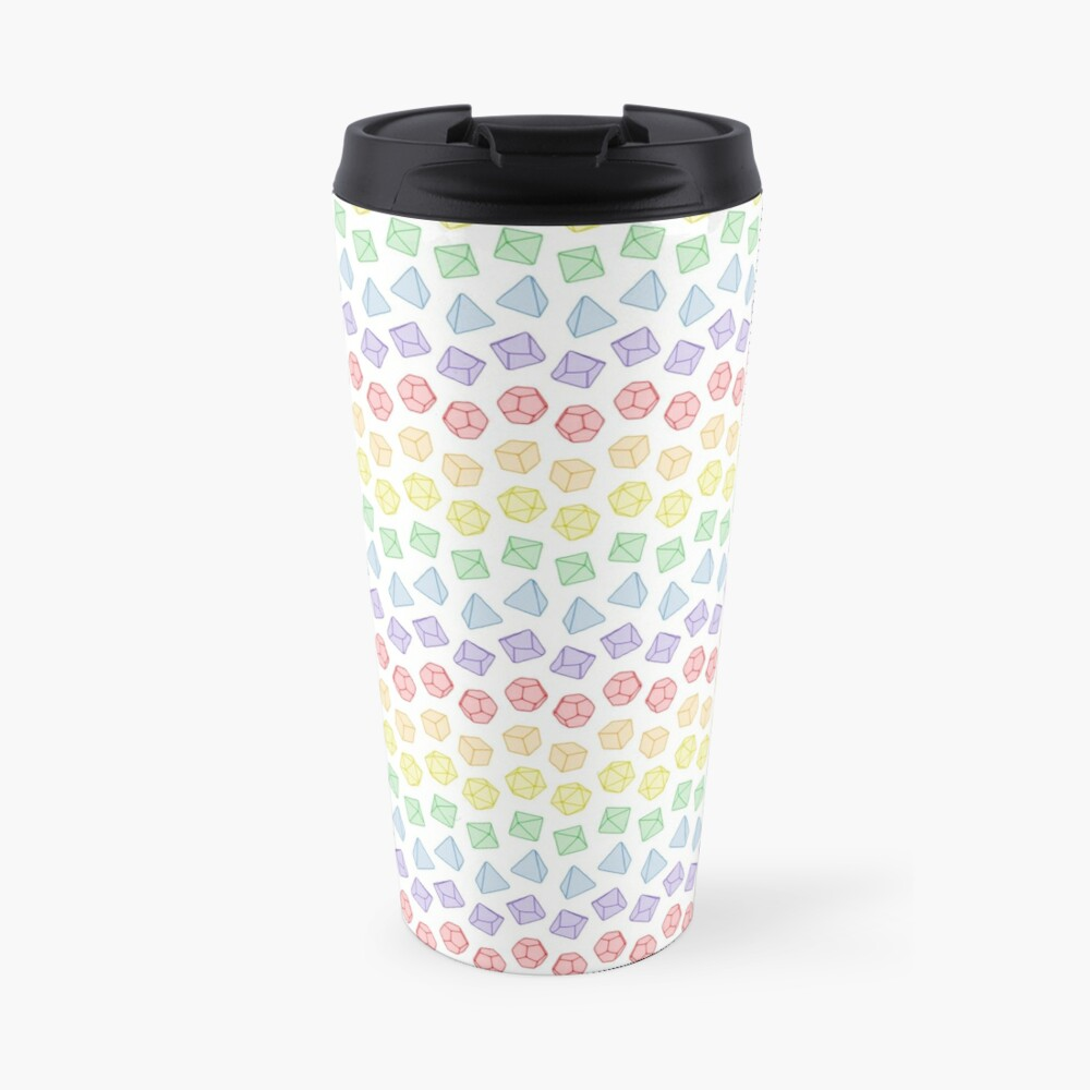 A Roll of the Dice Travel Mug